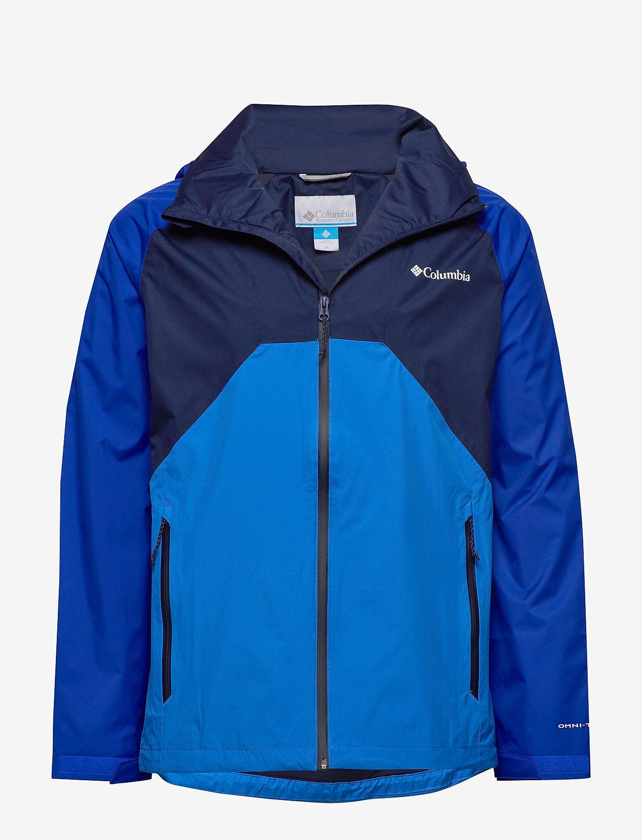 Columbia - Rain Scape Jacket - kurtki turystyczne - collegiate navy - 0