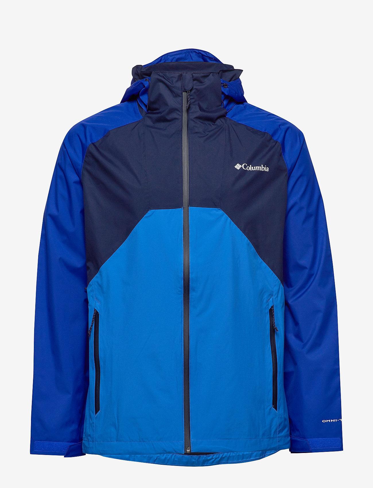 Columbia - Rain Scape Jacket - kurtki turystyczne - collegiate navy - 1