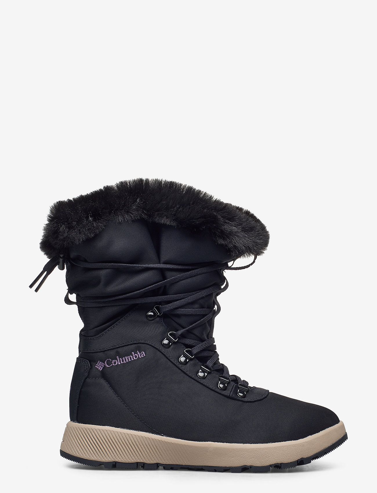 Columbia - SLOPESIDE VILLAGE™ OMNI-HEAT™ HI - platte enkellaarsjes - extreme midnigh - 1