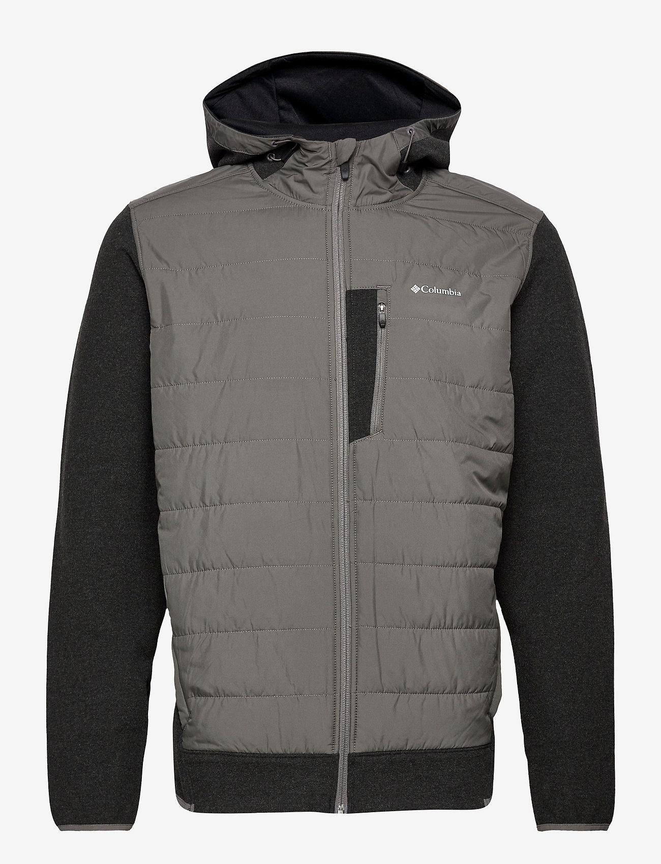 Columbia - Panorama™ Full Zip Hoodie - kurtki narciarskie - charcoal - 0