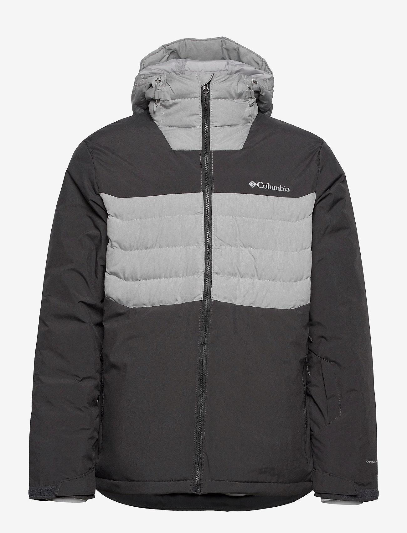 Columbia - White Horizon Hybrid™ Jacket - kurtki narciarskie - shark, columbia - 0