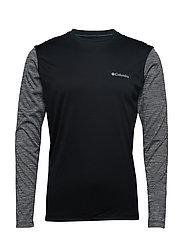 Zero Rules™ Long Sleeve Shirt - BLACK, BLACK HE