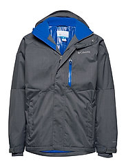 M Alpine Action Jkt - GRAPHITE, SUPER BLUE