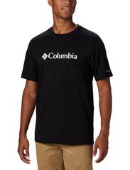 Columbia - CSC Basic Logo Short Sleeve - topy sportowe - black - 0