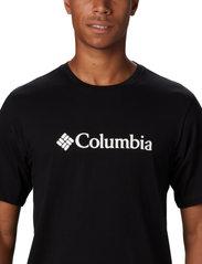 Columbia - CSC Basic Logo Short Sleeve - topy sportowe - black - 5