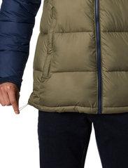 Columbia - Pike Lake Hooded Jacket - kurtki pluszowe - stone green, collegiate navy - 6