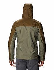 Columbia - Pouring Adventure™ II Jacket - kurtki sportowe - stone green, new olive - 3