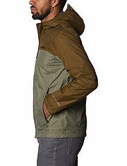 Columbia - Pouring Adventure™ II Jacket - kurtki sportowe - stone green, new olive - 4
