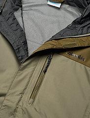 Columbia - Pouring Adventure™ II Jacket - kurtki sportowe - stone green, new olive - 9