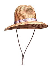 Bella Falls™ Straw Hat - CAMEL BROWN