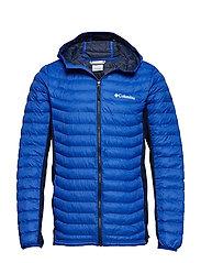 Powder Pass™ Hooded Jacket - AZUL, COLLEGIAT