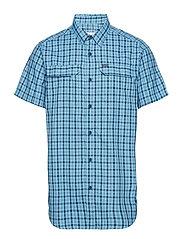 Silver Ridge™ 2.0 Multi Plaid S/S Shirt - COLLEGIATE NAVY