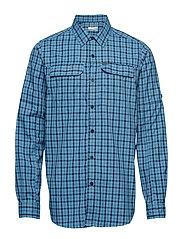 Silver Ridge™ 2.0 Plaid L/S Shirt - COLLEGIATE NAVY
