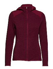 Coggin Peak™ FZ Hooded Fleece - WINE BERRY
