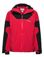 Powder Keg III Jacket - MOUNTAIN RED, BLACK