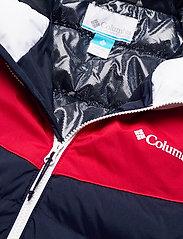 Columbia - Iceline Ridge™ Jacket - kurtki narciarskie - collegiate navy, mountain red, white - 3