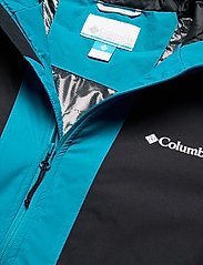 Columbia - Timberturner Jacket - kurtki narciarskie - plum, black, fj - 3