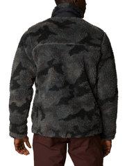 Columbia - Winter Pass Print Fleece Full Zip - swetry pluszowe - black camo - 3