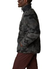 Columbia - Winter Pass Print Fleece Full Zip - swetry pluszowe - black camo - 4
