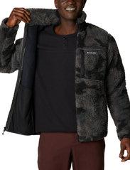 Columbia - Winter Pass Print Fleece Full Zip - swetry pluszowe - black camo - 5