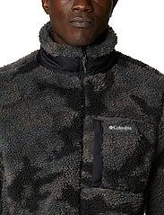 Columbia - Winter Pass Print Fleece Full Zip - swetry pluszowe - black camo - 6