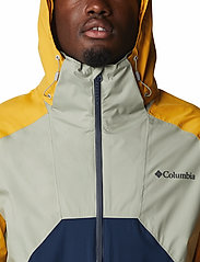 Columbia - Rain Scape Jacket - kurtki turystyczne - safari, bright gold, collegiate navy - 5