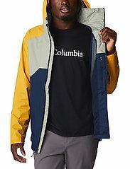Columbia - Rain Scape Jacket - kurtki turystyczne - safari, bright gold, collegiate navy - 6