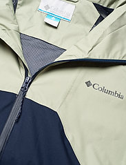 Columbia - Rain Scape Jacket - kurtki turystyczne - safari, bright gold, collegiate navy - 13