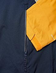 Columbia - Rain Scape Jacket - kurtki turystyczne - safari, bright gold, collegiate navy - 14