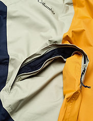 Columbia - Rain Scape Jacket - kurtki turystyczne - safari, bright gold, collegiate navy - 17