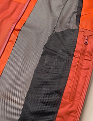 Columbia - Rain Scape Jacket - kurtki turystyczne - bonfire, ancient fossil, dark sienna - 1