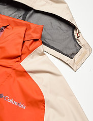 Columbia - Rain Scape Jacket - kurtki turystyczne - bonfire, ancient fossil, dark sienna - 6