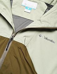 Columbia - Rain Scape Jacket - kurtki turystyczne - safari, matcha, new olive - 3