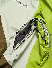 Columbia - Rain Scape Jacket - kurtki turystyczne - safari, matcha, new olive - 7