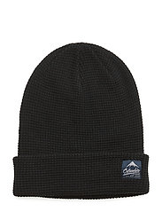 Lost Lager™ Waffle Beanie - BLACK