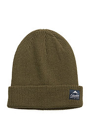 Lost Lager™ Waffle Beanie - PEATMOSS