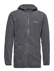 Tough Hiker™ Hooded Fleece - GRAPHITE, BLACK