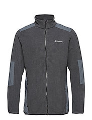 Tough Hiker™ Full Zip Fleece - BLACK