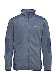 Tough Hiker™ Full Zip Fleece - DARK MOUNTAIN
