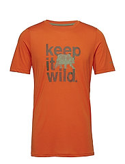 Miller Valley™ Short Sleeve Tee - BACKCOUNTRY ORANGE
