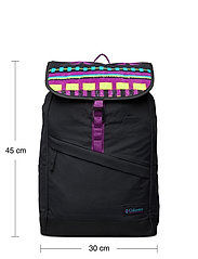Columbia - Falmouth™ 21L Backpack - torby treningowe - black, black pr - 4
