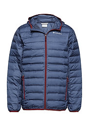 Lake 22™ Down Hooded Jacket - DARK MOUNTAIN