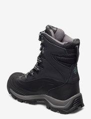 Columbia - BUGABOOT PLUS III OH WMN - flat ankle boots - black, dark mir - 2