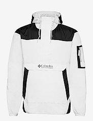 Challenger Windbreaker - WHITE, BLACK