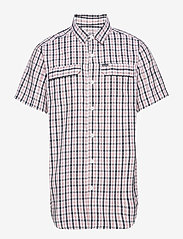 Columbia - Silver Ridge™ 2.0 Multi Plaid S/S Shirt - koszule w kratkę - black gingham - 0
