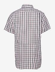 Columbia - Silver Ridge™ 2.0 Multi Plaid S/S Shirt - koszule w kratkę - black gingham - 1