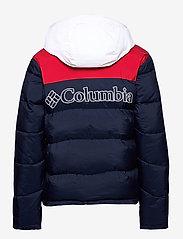 Columbia - Iceline Ridge™ Jacket - kurtki narciarskie - collegiate navy, mountain red, white - 2
