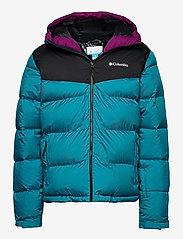 Columbia - Iceline Ridge™ Jacket - kurtki narciarskie - fjord blue, bla - 0