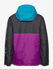 Columbia - Timberturner Jacket - kurtki narciarskie - plum, black, fj - 1