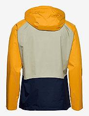 Columbia - Rain Scape Jacket - kurtki turystyczne - safari, bright gold, collegiate navy - 2
